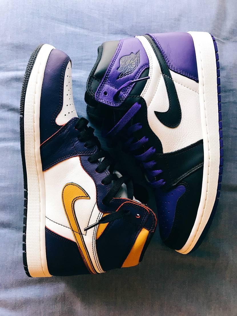 LA to Chicagoは削ったので、紫ではないですが 3足目の紫も是非、履