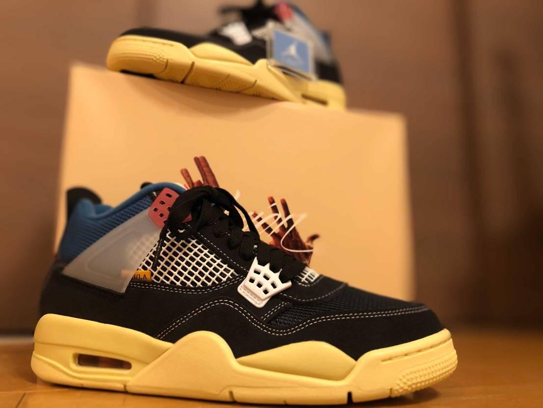 Union Los Angeles × Nike Air Jordan 4 Re