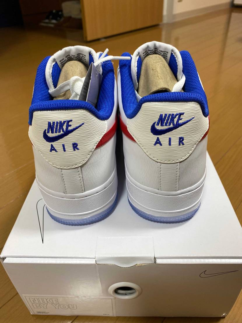 Nike by youでカスタムしたスニーカー到着!!  セイルとホワイトを