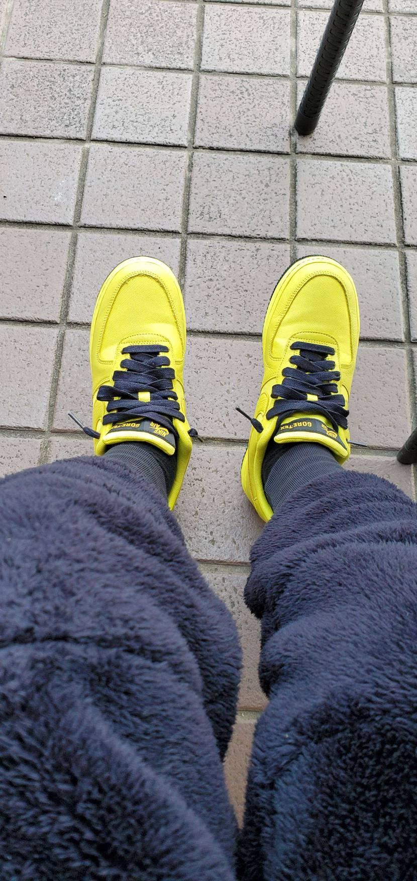 眩しいくらいの黄色だな😃