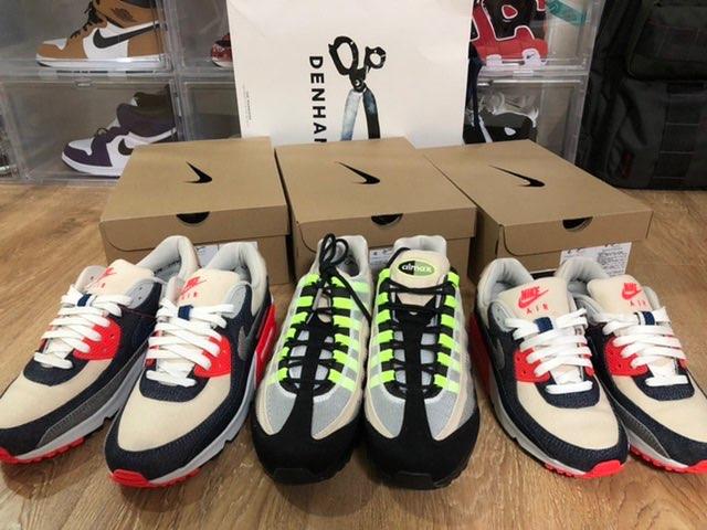 昨日DENHAM上海の店舗購入予約して、今日発売&購入出来ました!しかも自分の9