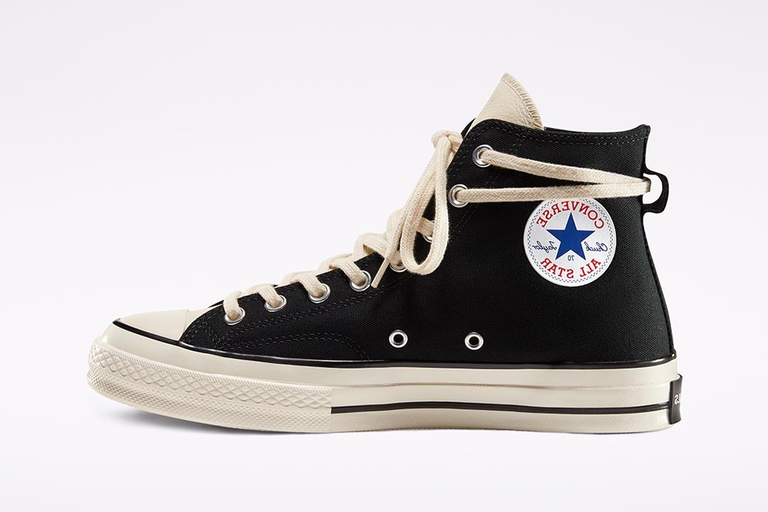 "Fear of God ESSENTIALS x Converse Chuck 70 ""Black"""