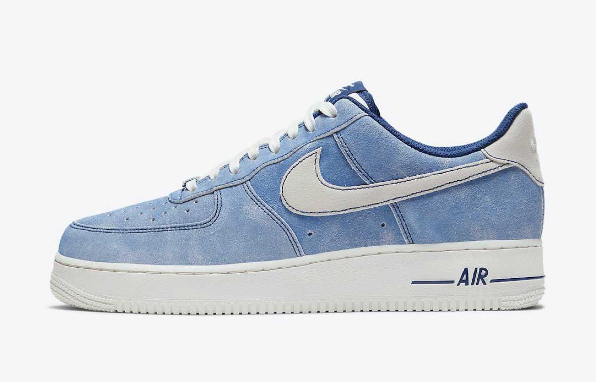 Nike Air Force 1 '07 LV8 Blue Void / Sail