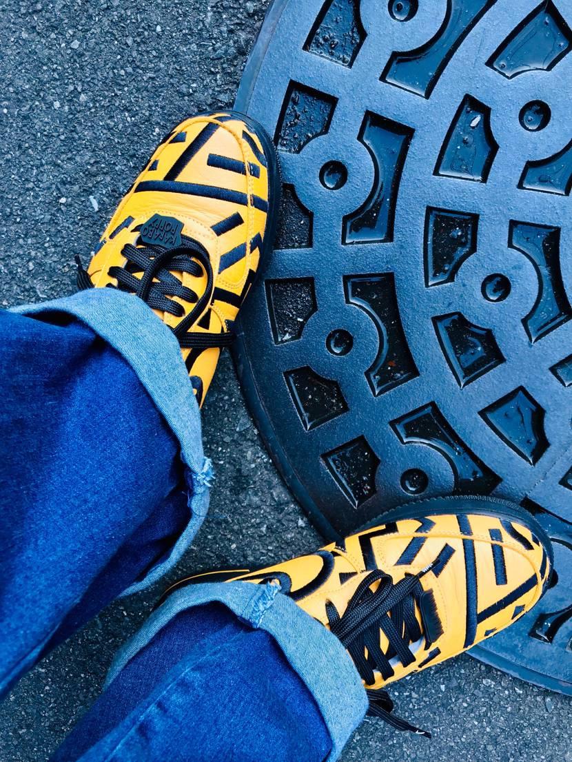 今日はKARABOでスニーカーめぐり。