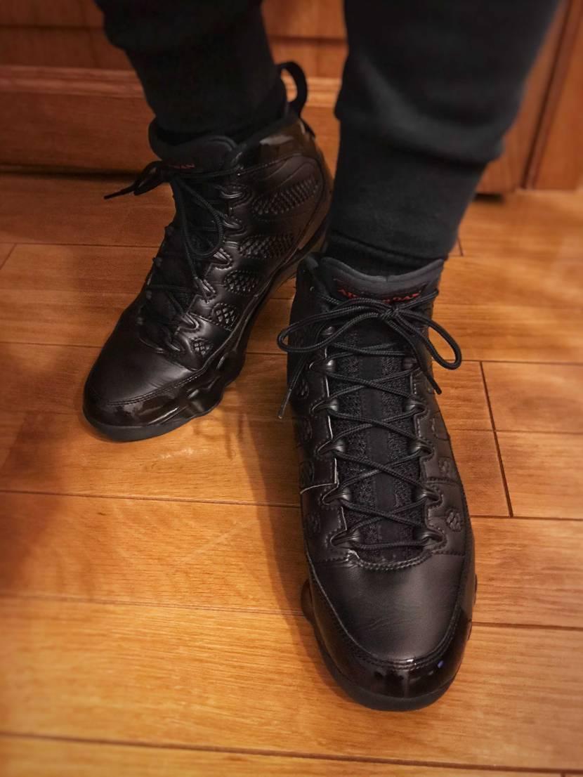 久々に履いたAJ9。スッキリしたシルエットと、ブーツっぽく綺麗にまとめてくれるか