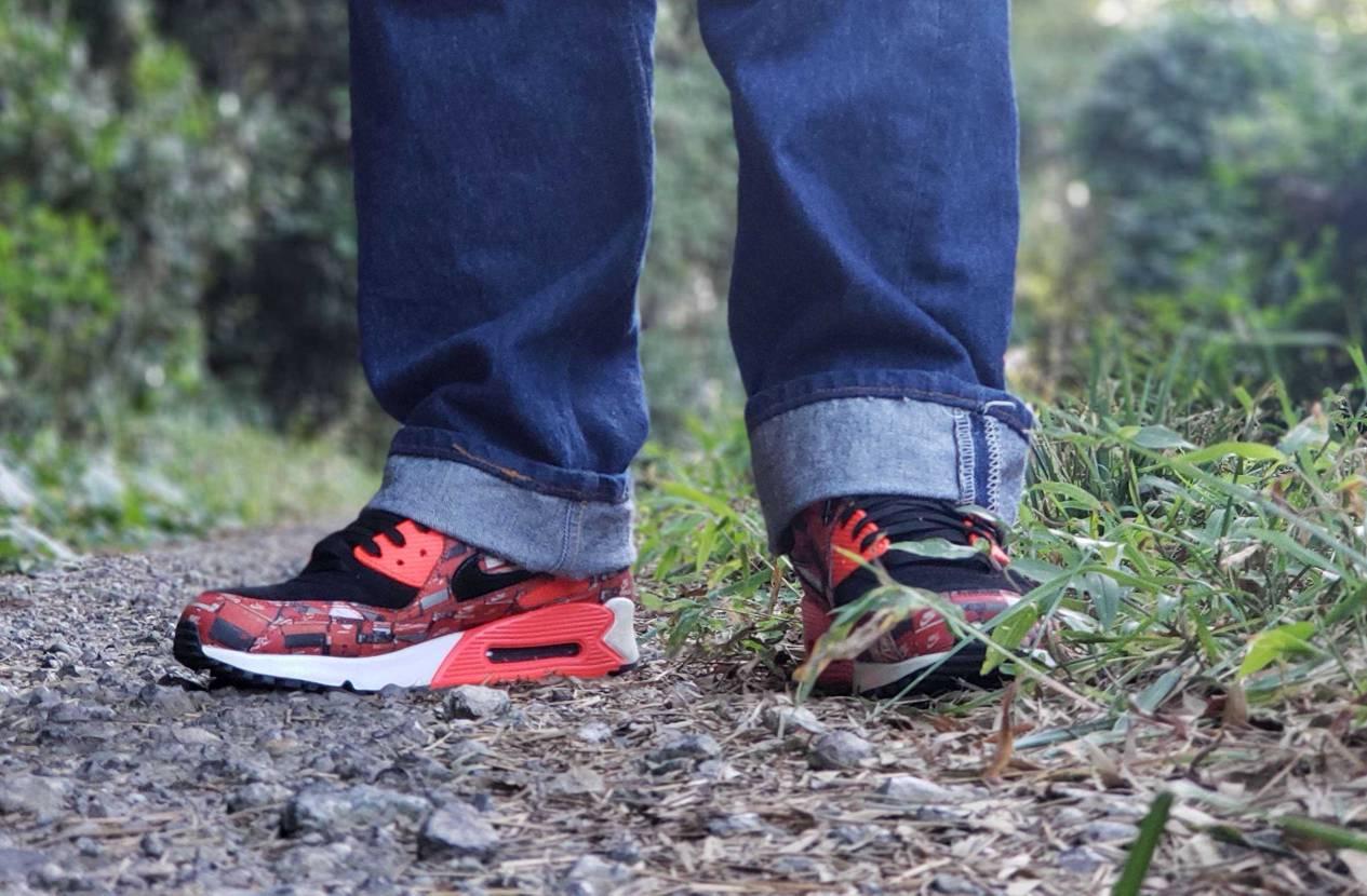 好きなスニーカー履いてると散歩が捗る😊