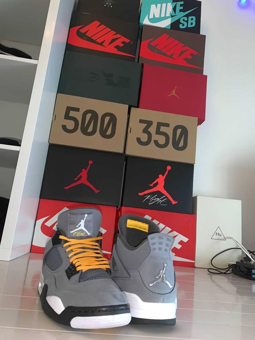 AJ4 cool grey