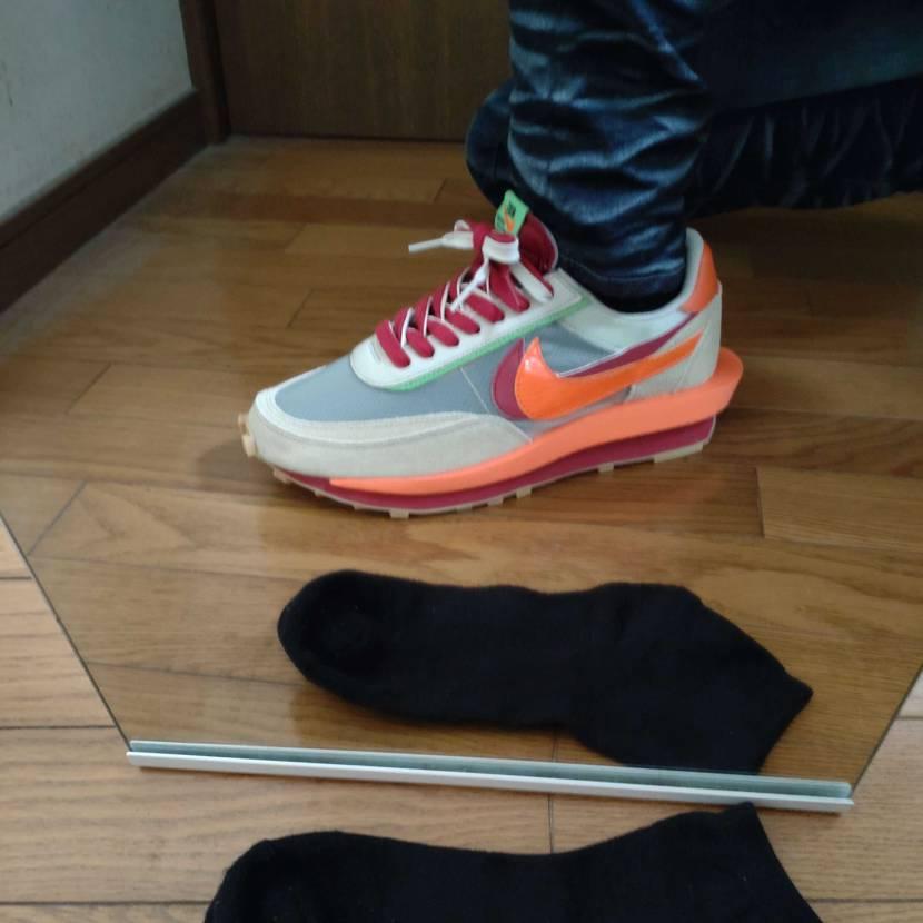ご活用ください✨ 靴下の色の透過・変化具合です😊