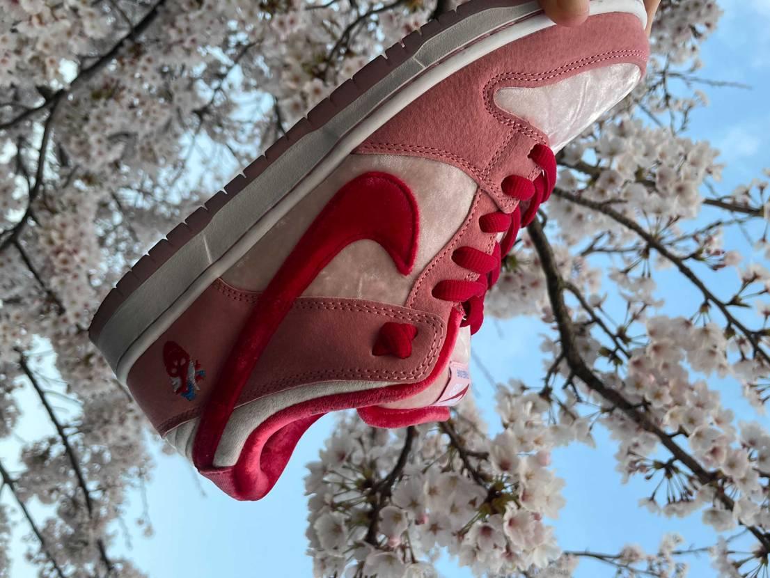 お花見がてらスニーカーphoto👟🤳 春はやっぱ可愛い😍