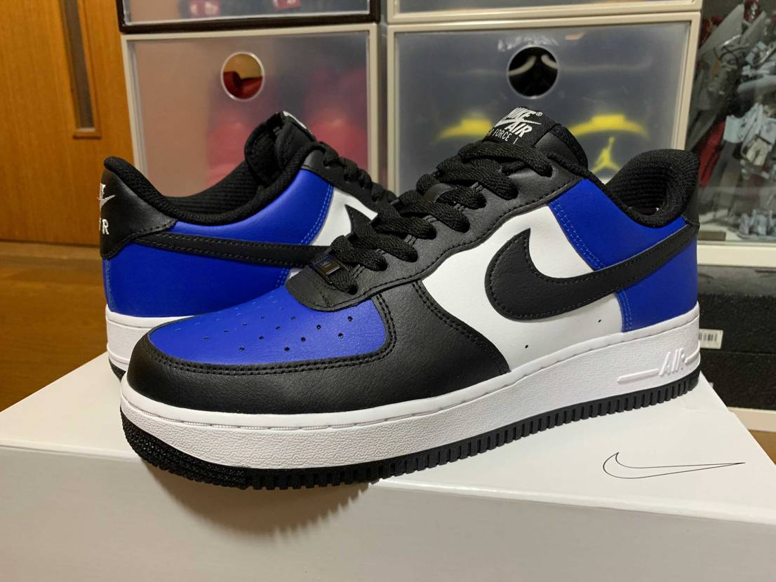 NIKE BY YOUでオーダーしたAIR FORCE 1が届きました。 AI