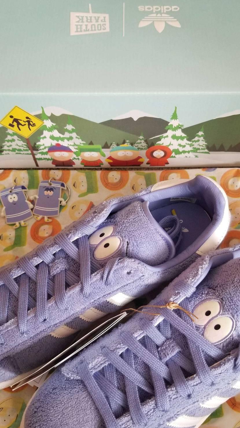 初adidas当選のサウスパークが先ほど到着♪ スニーカー、ギミック、箱、紙、キ