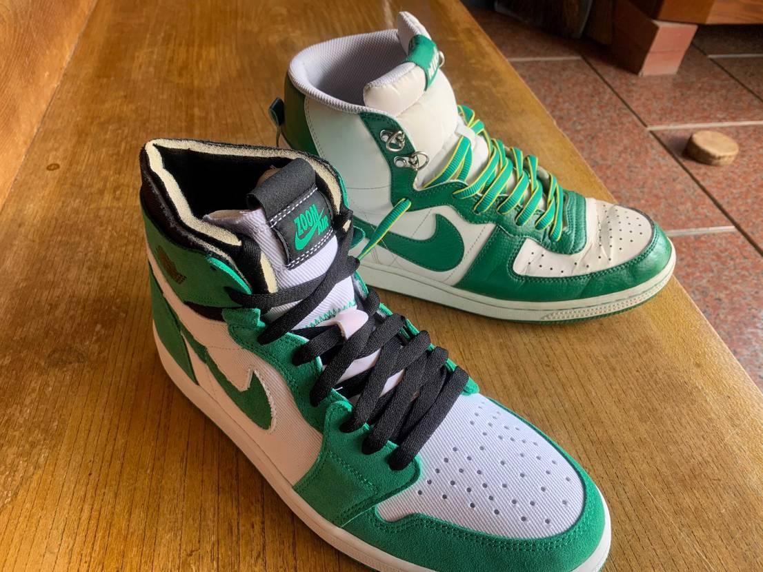 緑のこの配色はターミネーター以来の購入… 良きかな🤤