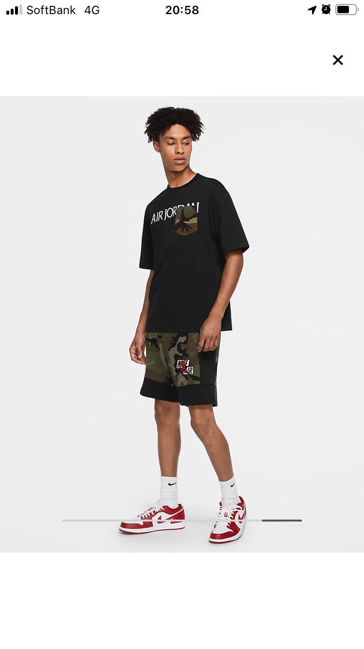 #みなさんに質問  このジョーダンTシャツもう完売? それともまだ発売してな