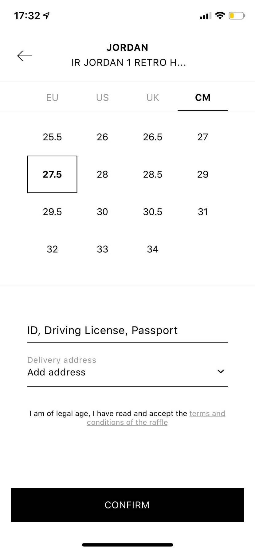 ID,Driving License ,passport  の所って何を書けば良