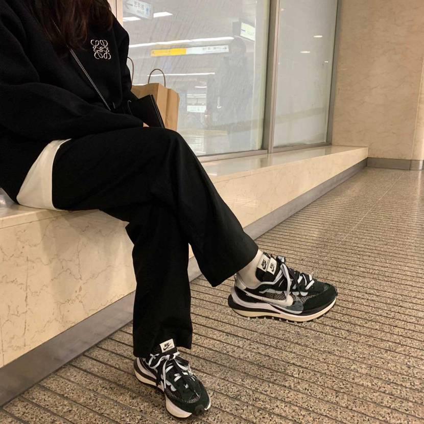 天気良かったから履いちゃった🐼 男性の方が似合うのかな?でも、かわいい #s