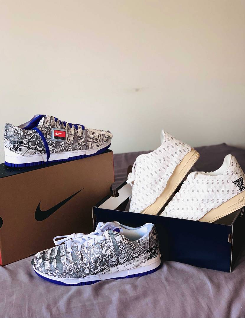 """NIKE WMNS DUNK LOW """"MADE YOU LOOK""""  SN"""