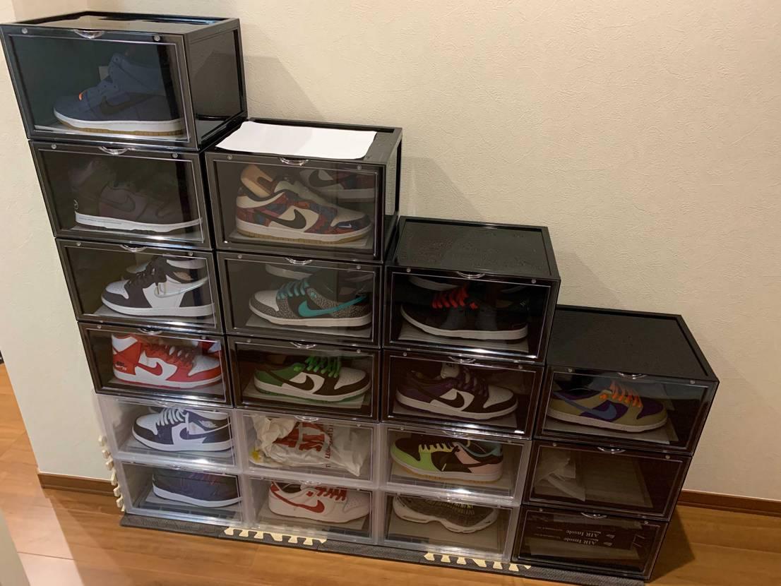BOXを6個追加しました! 普通に並べてもつまらないから階段にしてみたwやはり