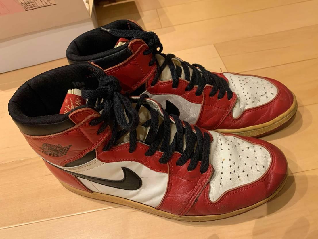 1994 Air Jordan1 Chicago その昔、バスケ部に履いて行っ