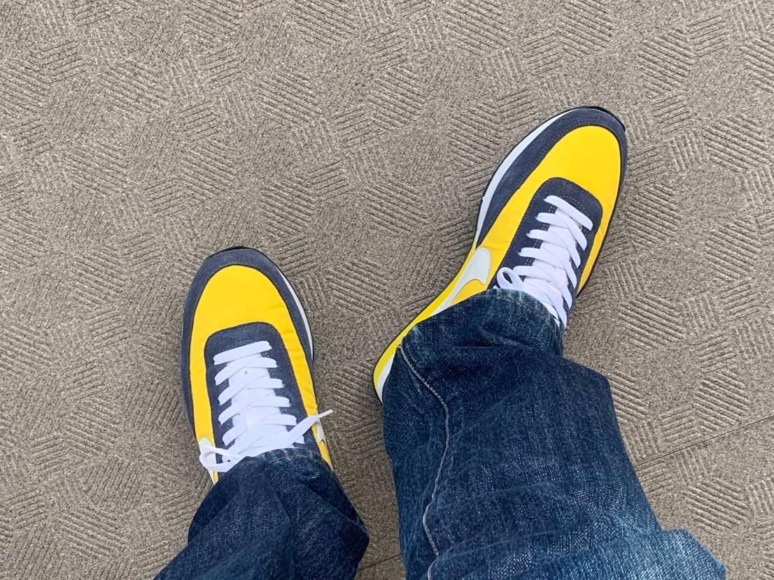05年製エリート復刻黄色から04年製ターミネーター復刻スーパーソニックスに衣替え