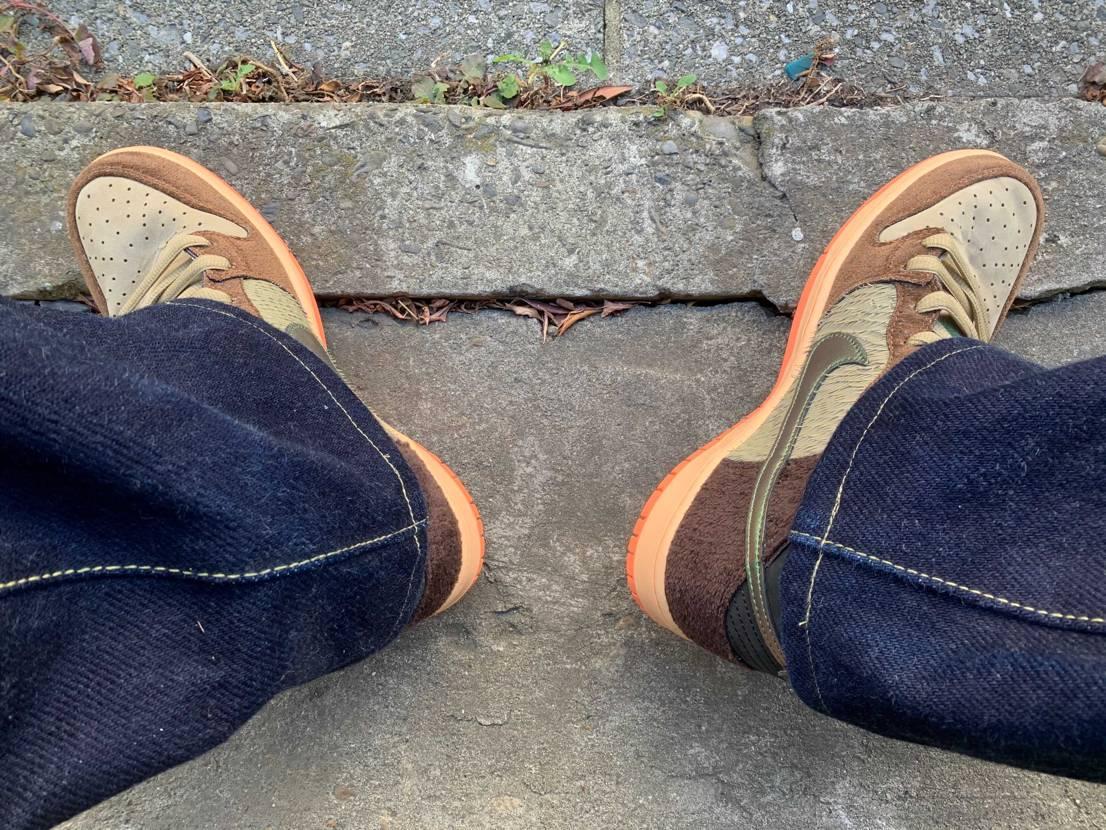 本日は🦆を初おろし 今の時期にピッタリの1足です 右足の毛羽立ちが凄いw