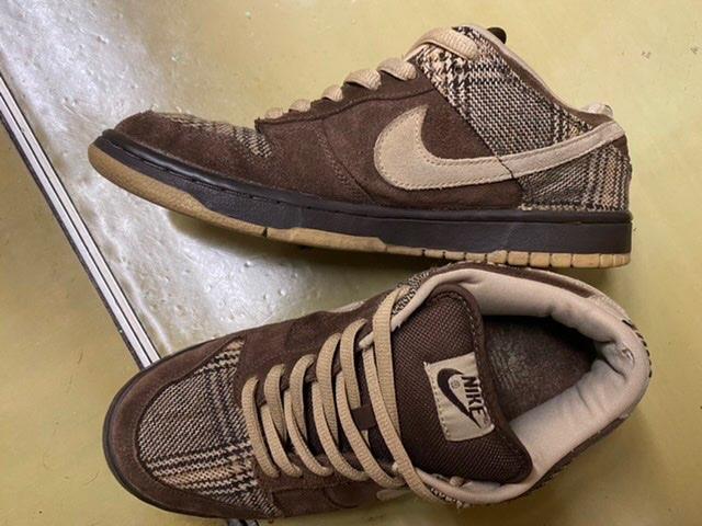 ダンクsbツィード。靴だけは、褒められる。