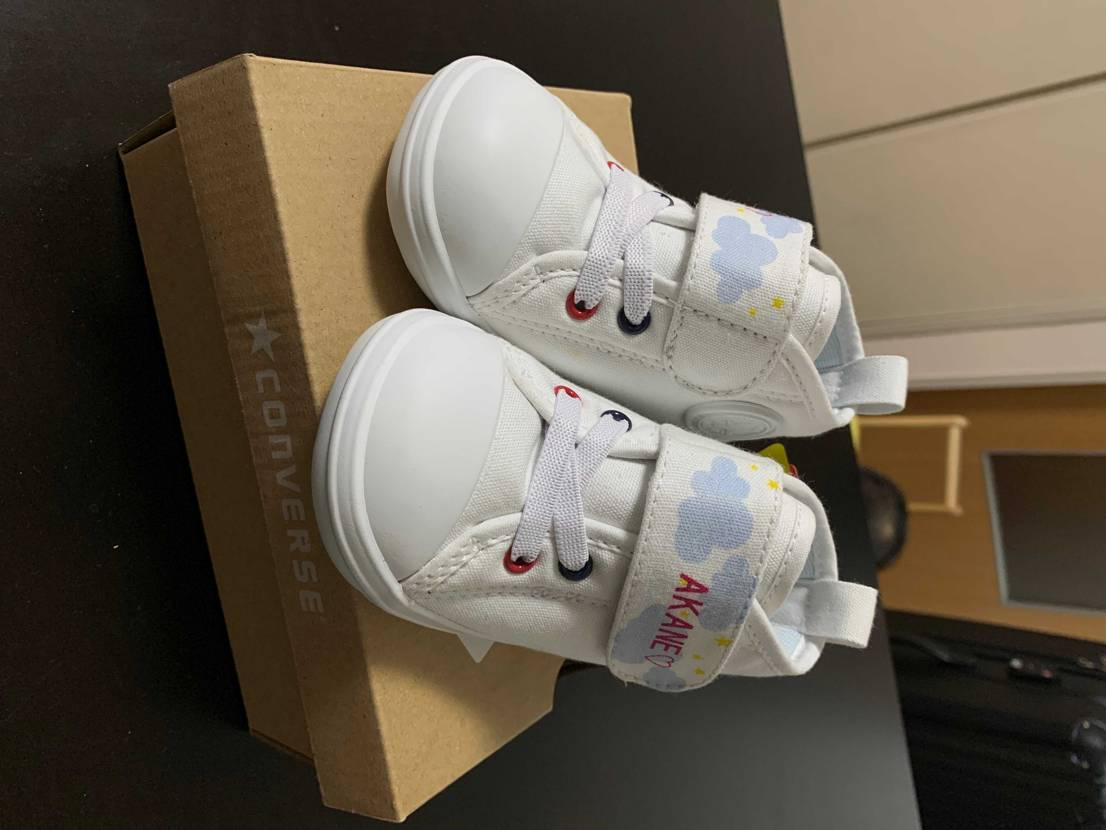 White atelier by CONVERSEにて義母に娘のシューズを買って