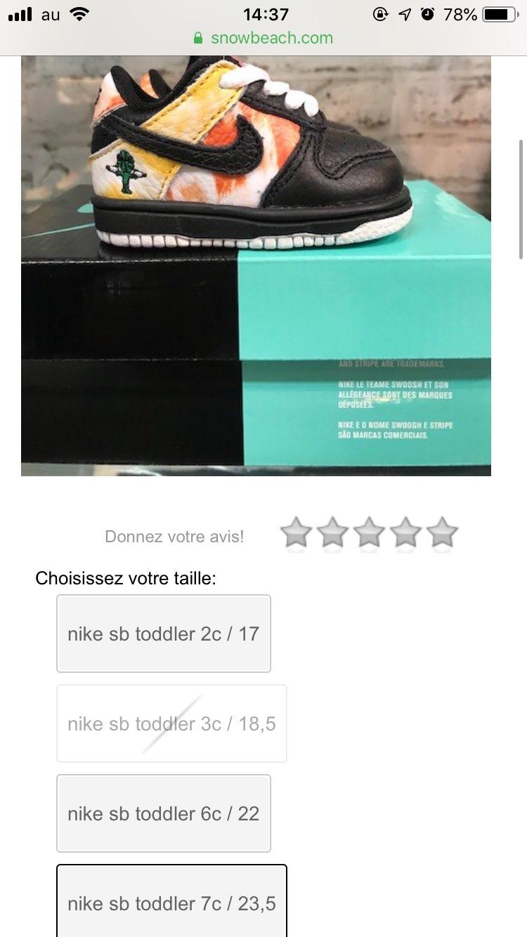 国内定価6600円なのにここは80€なんでスニダンさんで買ったほうがいいですね!