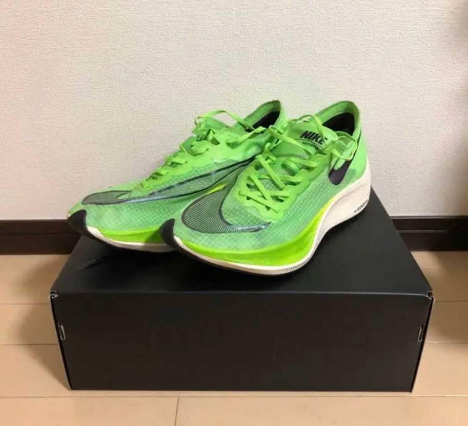 手術を受ける事が分かり、色々な気持ちで、横浜マラソンで履いて走った、この靴が自分