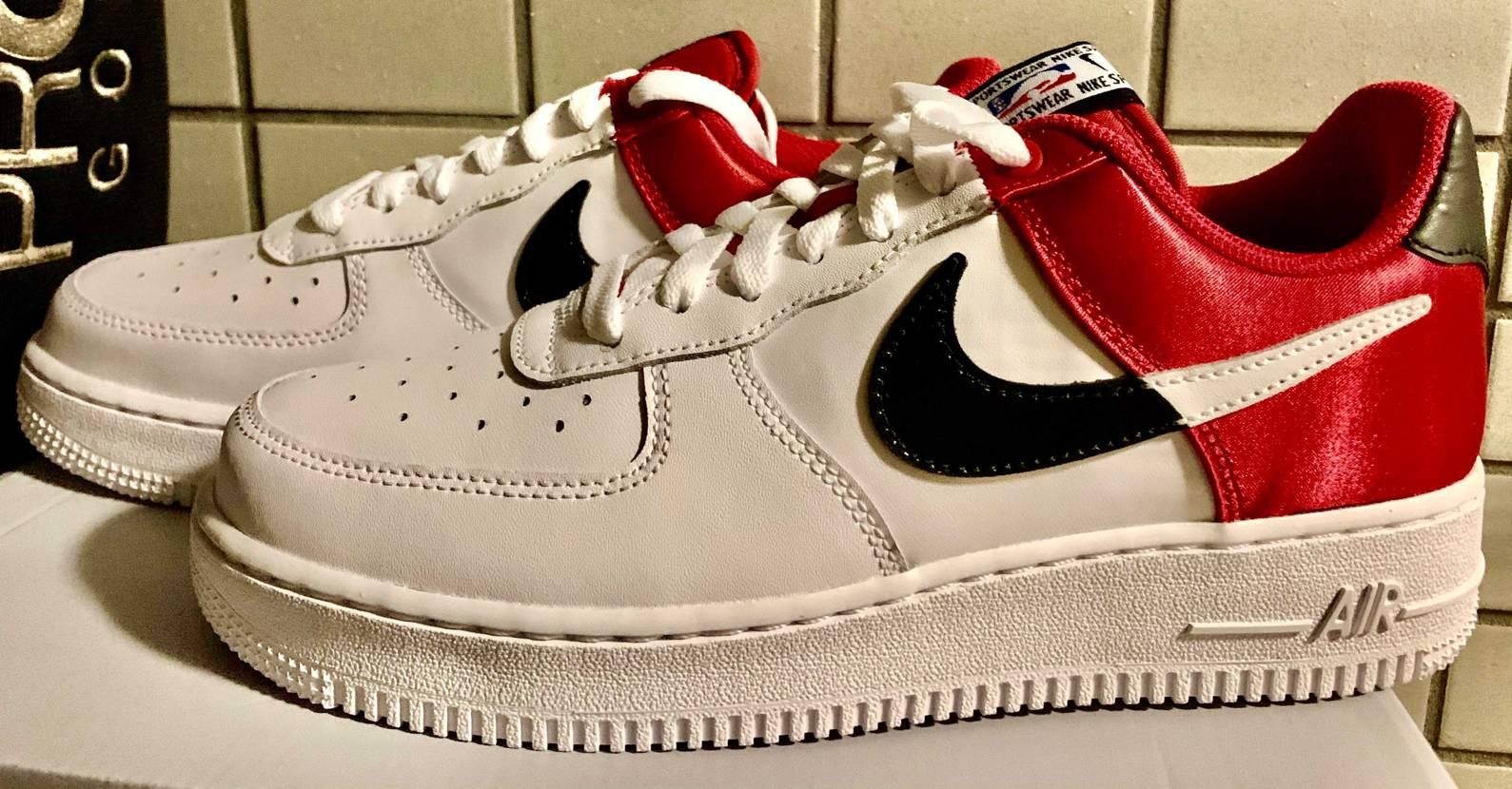 Nike Air Force1'07 LV8 NBA Read Black/Wh