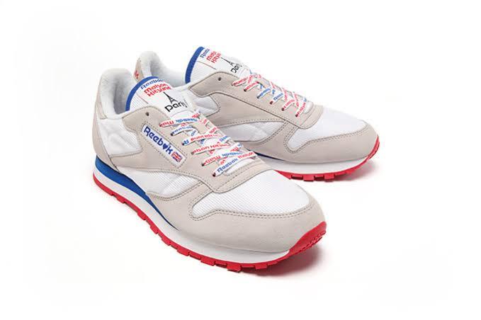 どなたかReebokとメゾンキツネのコラボの靴詳しい方居ますか?ポンプの方が足数
