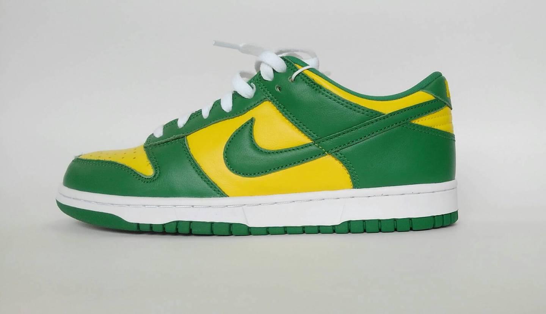 Nike Dunk Low SP Brazil🇧🇷🇧🇷 本当に色鮮やかなカラーに