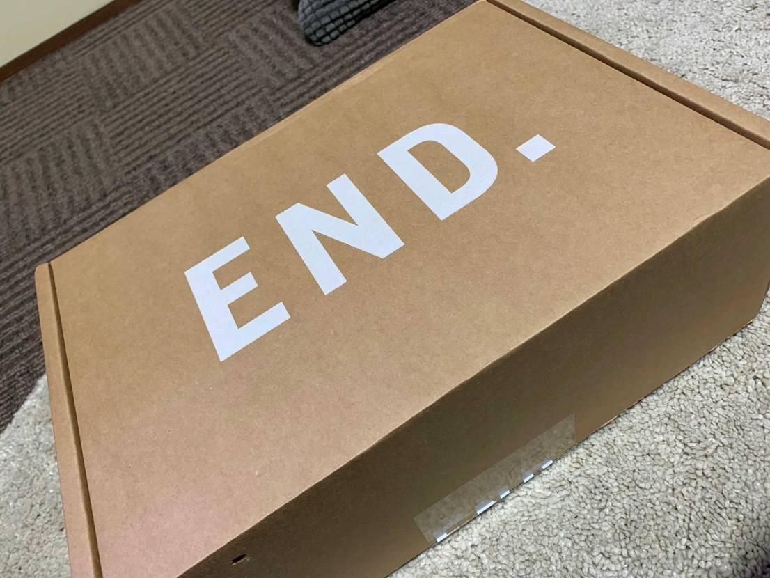 END.からブラックサテン無事着弾⤴️ シューレース どれにしようかかなり迷う
