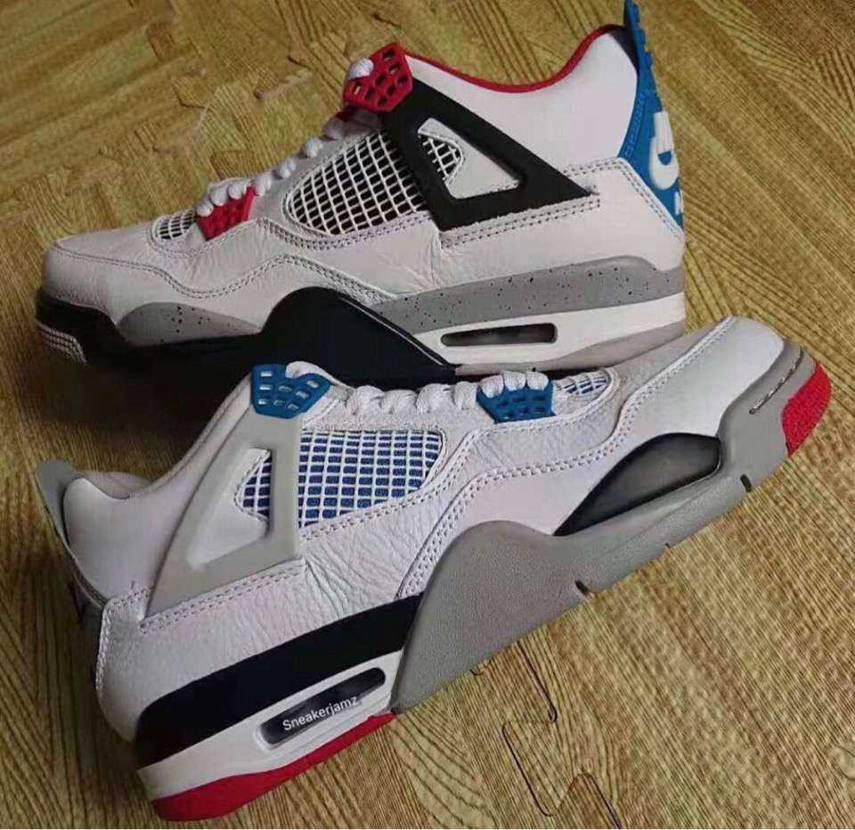 """昨日ゲトしたもの👟✨ ・Nike Air Jordan 4 """"What The"""