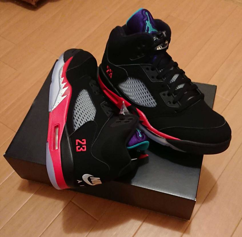 "Nike Air Jordan 5 Retro ""Top 3"" ワイのAJ5専用"