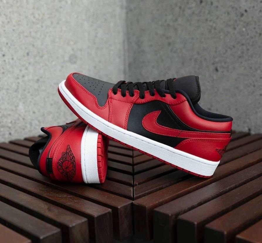 """Air Jordan 1 Low """"Varsity Red"""" 珍しくNIKE.c"""