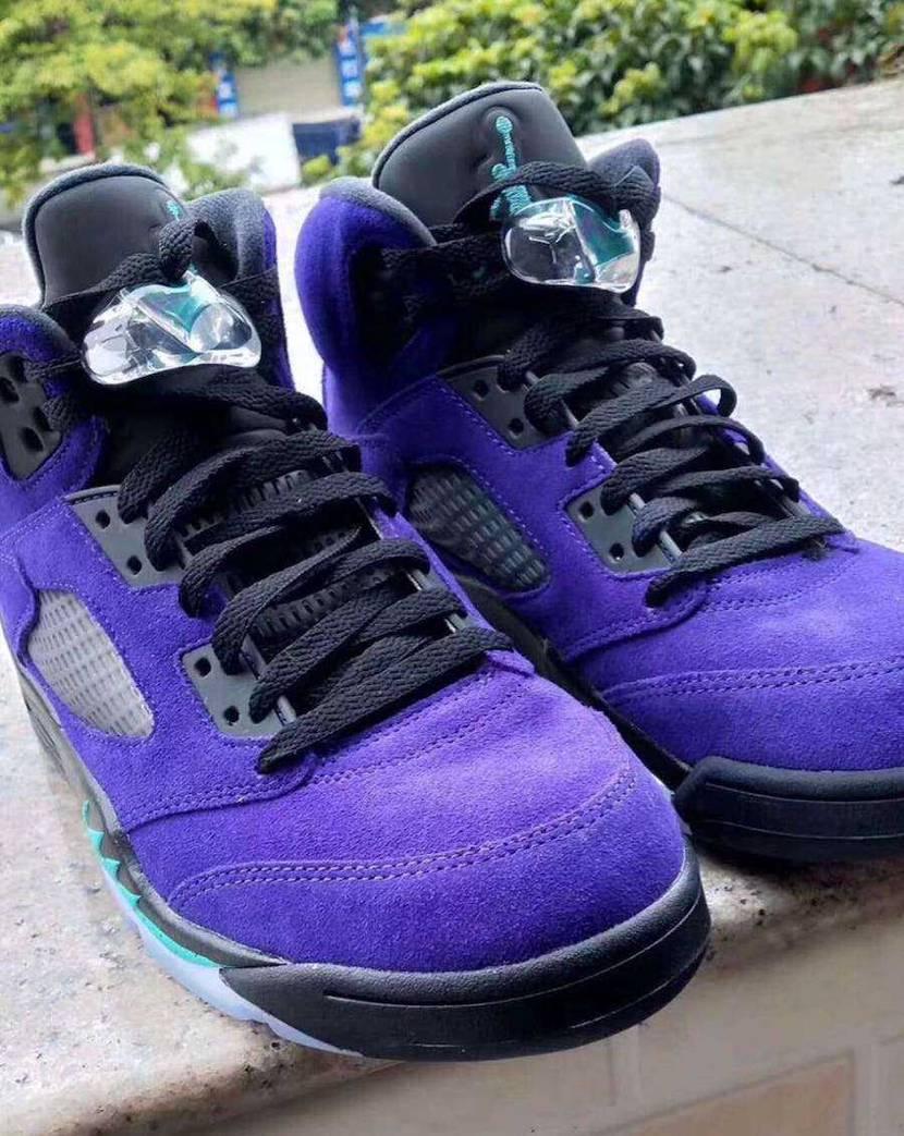 """Nike Air Jordan 5 Retro """"Purple Grape"""" 欲"""