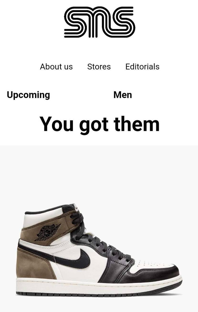 Nike Air Jordan 1 Retro High O