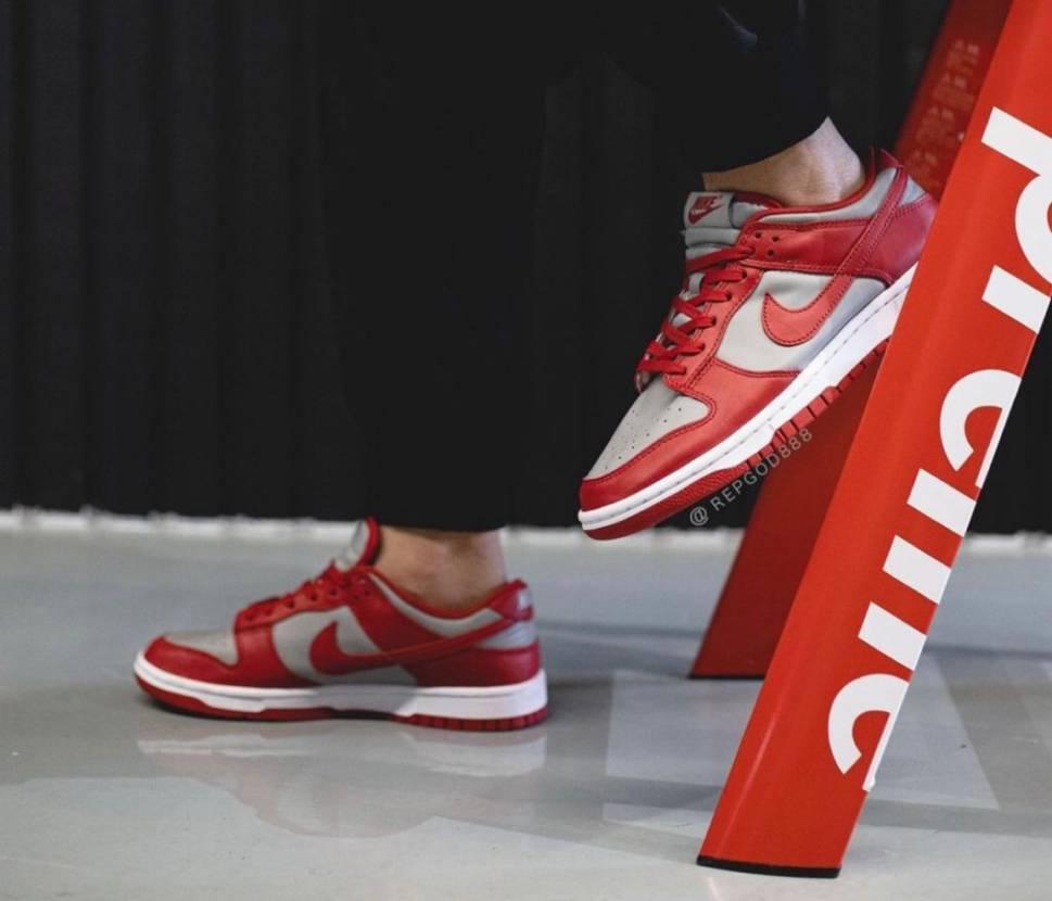 """2021新年初ゴッテム㊗️🎊 Nike Dunk Low Retro """"UNLV"""