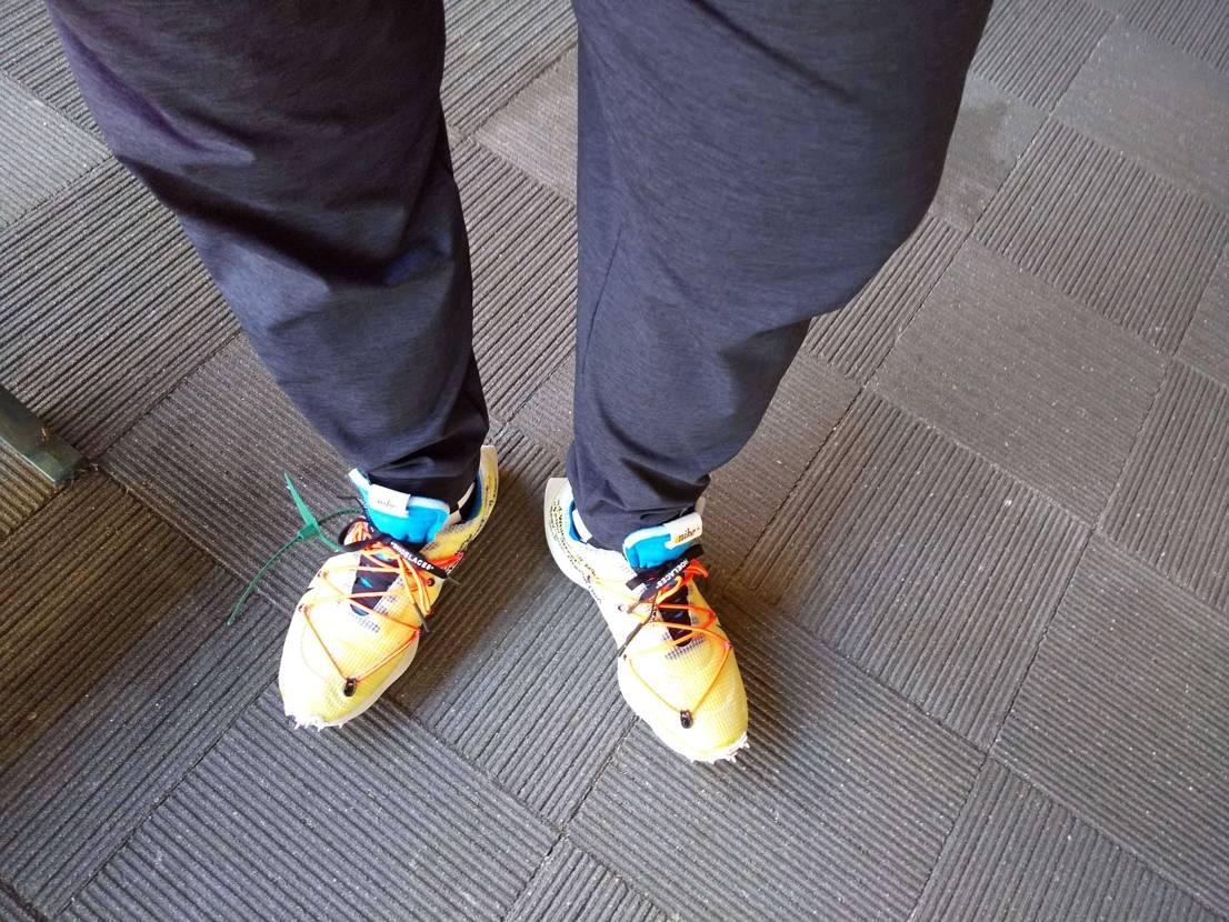 #初履き 昨日ラルクのライブに合わせて初履きしました😁 履き心地はよいです😊 過