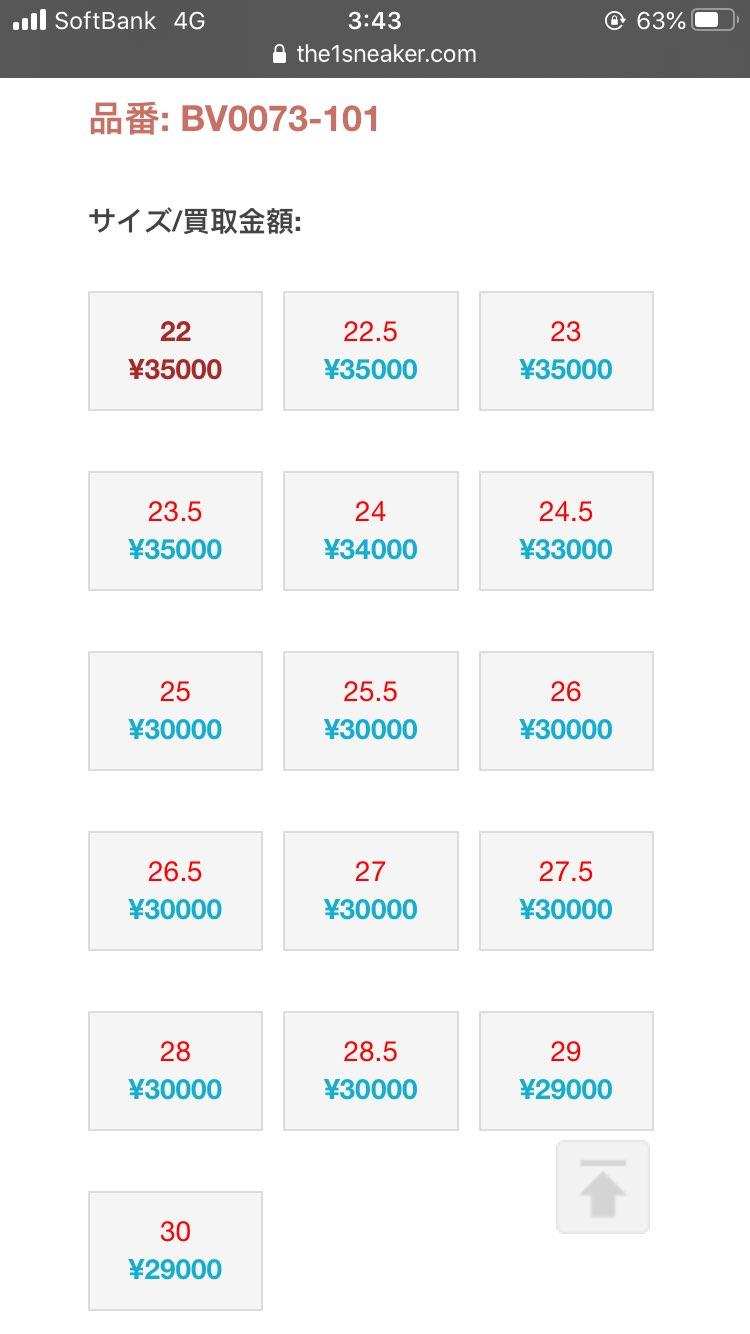 発売日から経ってないのに、フリマアプリ偽物だらけでワロタ。 28.5までは3万