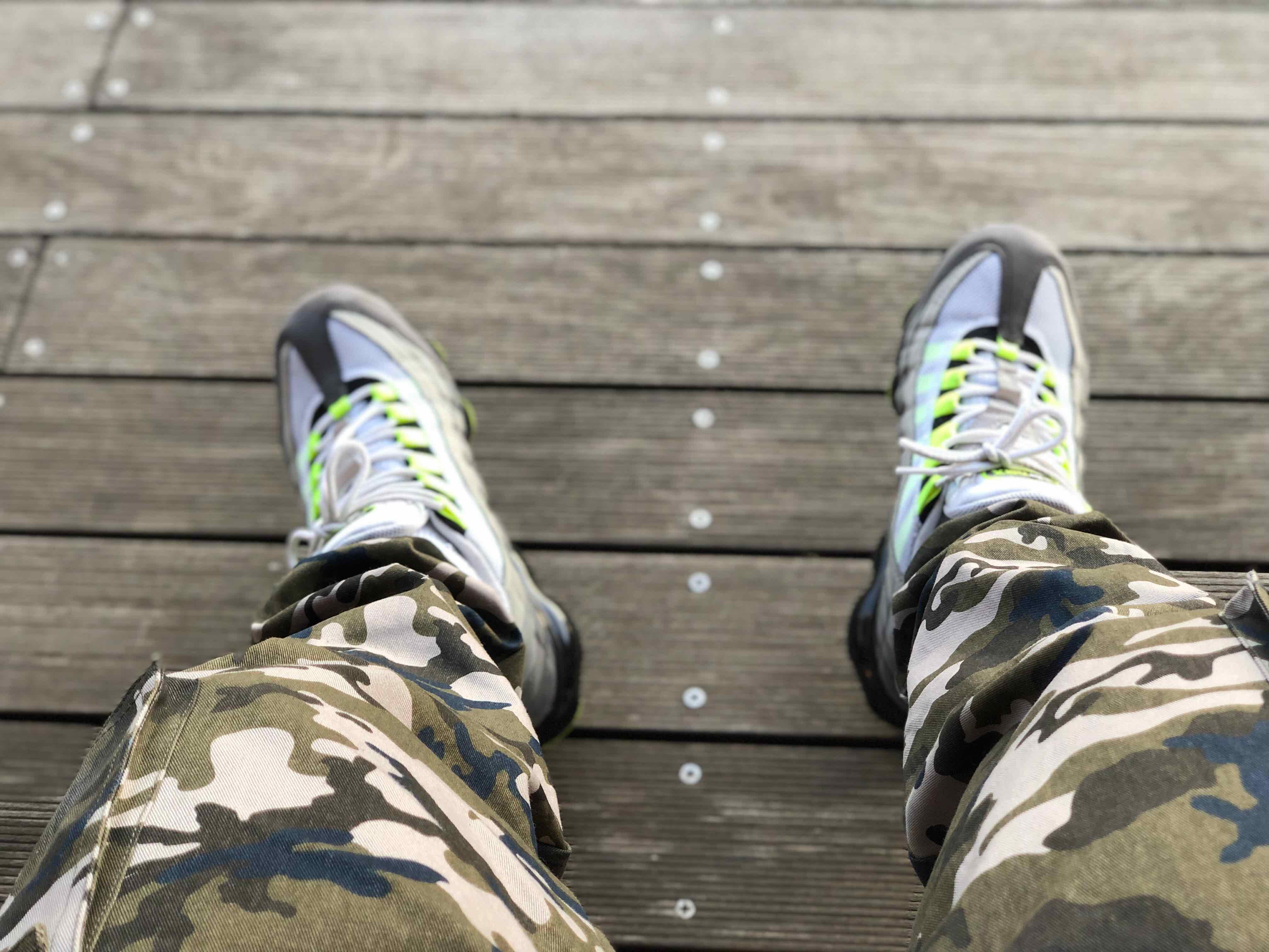 サイコーの履き心地 色合いもよいです #NIKE# #イエローグラデ