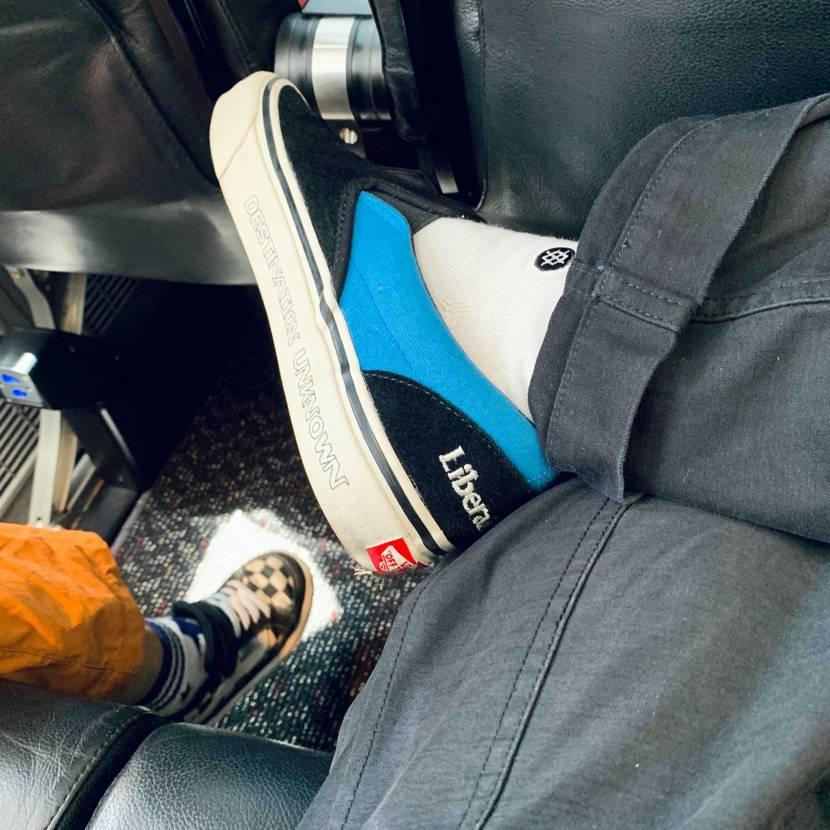 vansはいいな。 ナイキ好きだけどこっちの方が快適だな。
