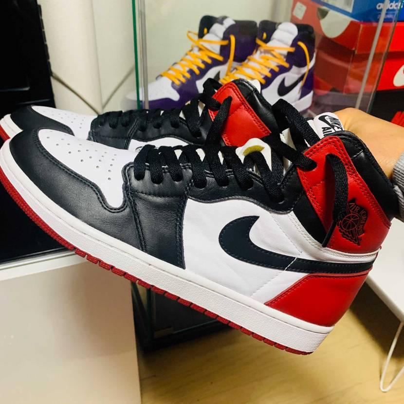 Nike Air Jordan 1 Retro High OG Black To