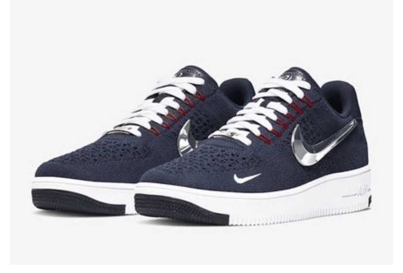 """Patriots×Nike Air Force 1 Ultra Flyknit """"6x Champs"""" 2019"""