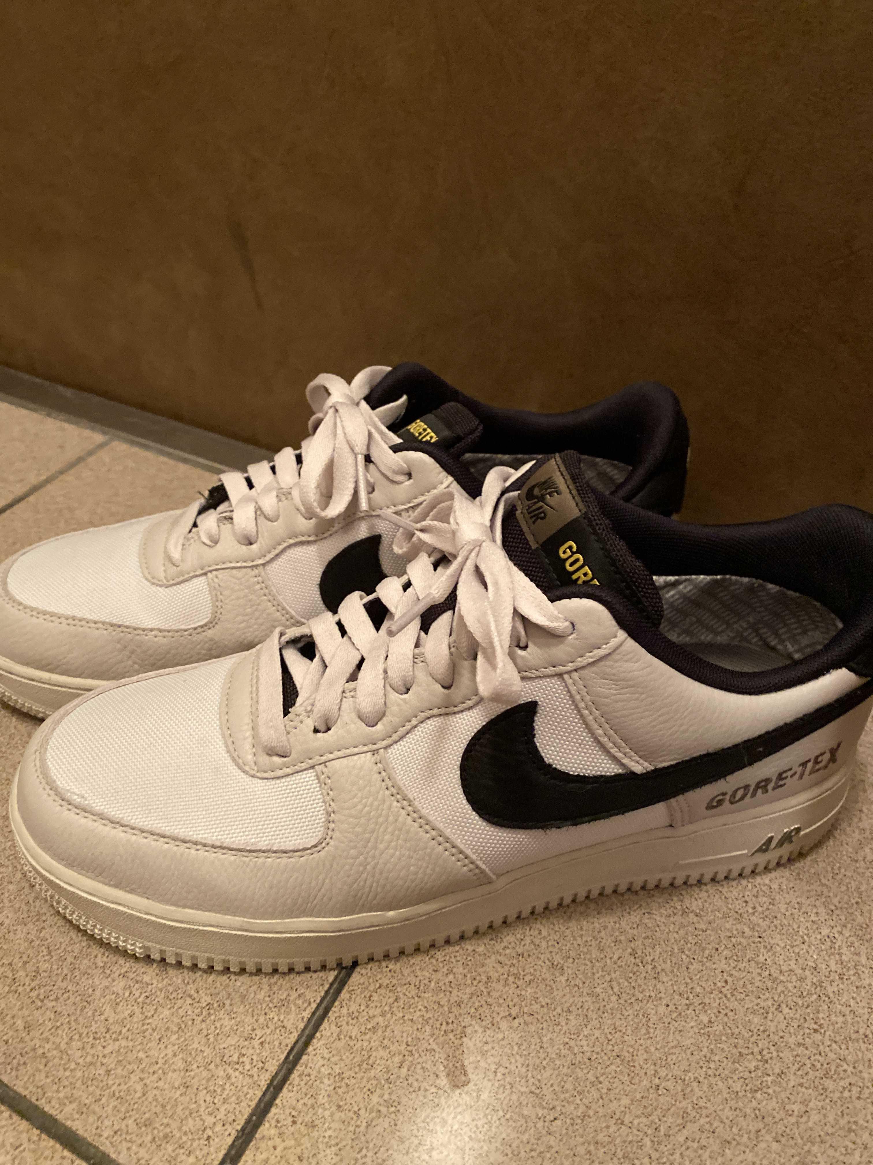 Nike Air Force One Low Gore-Tex White Sail Black