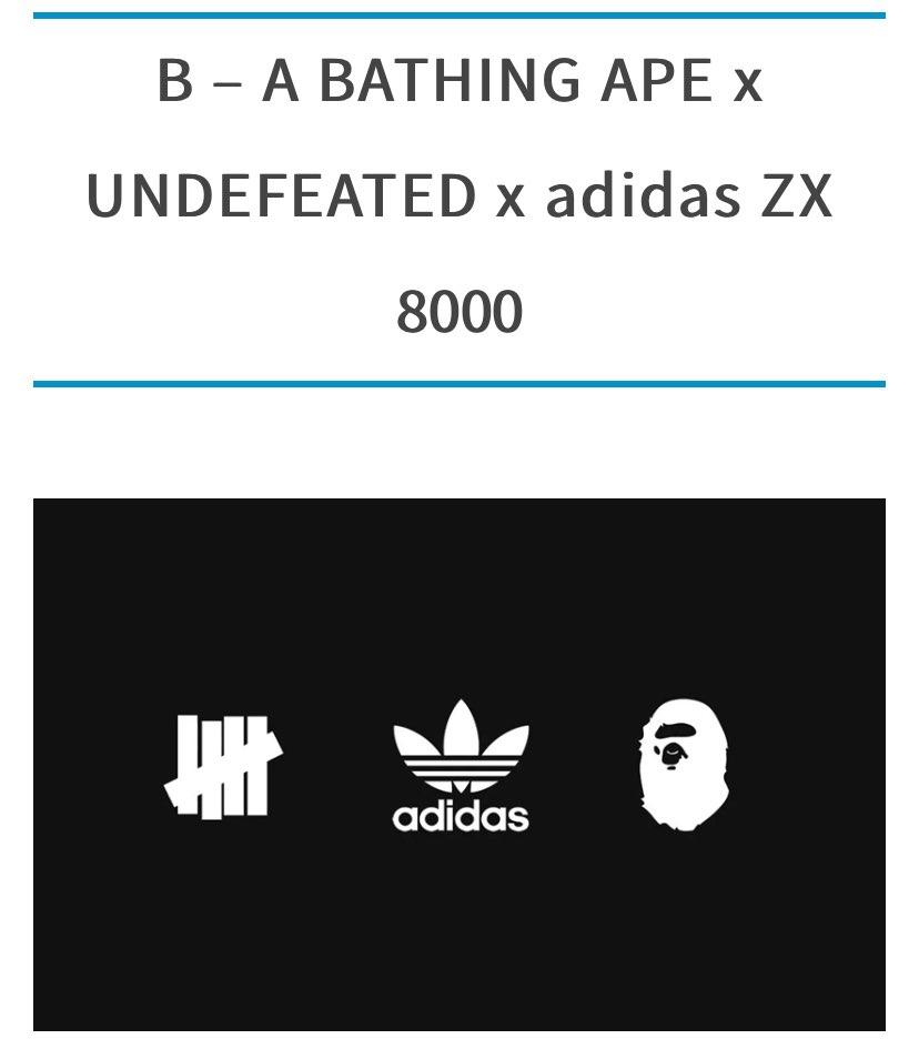 adidasのこのシリーズ面白いですね。 発表されてないアルファベットの勝手な