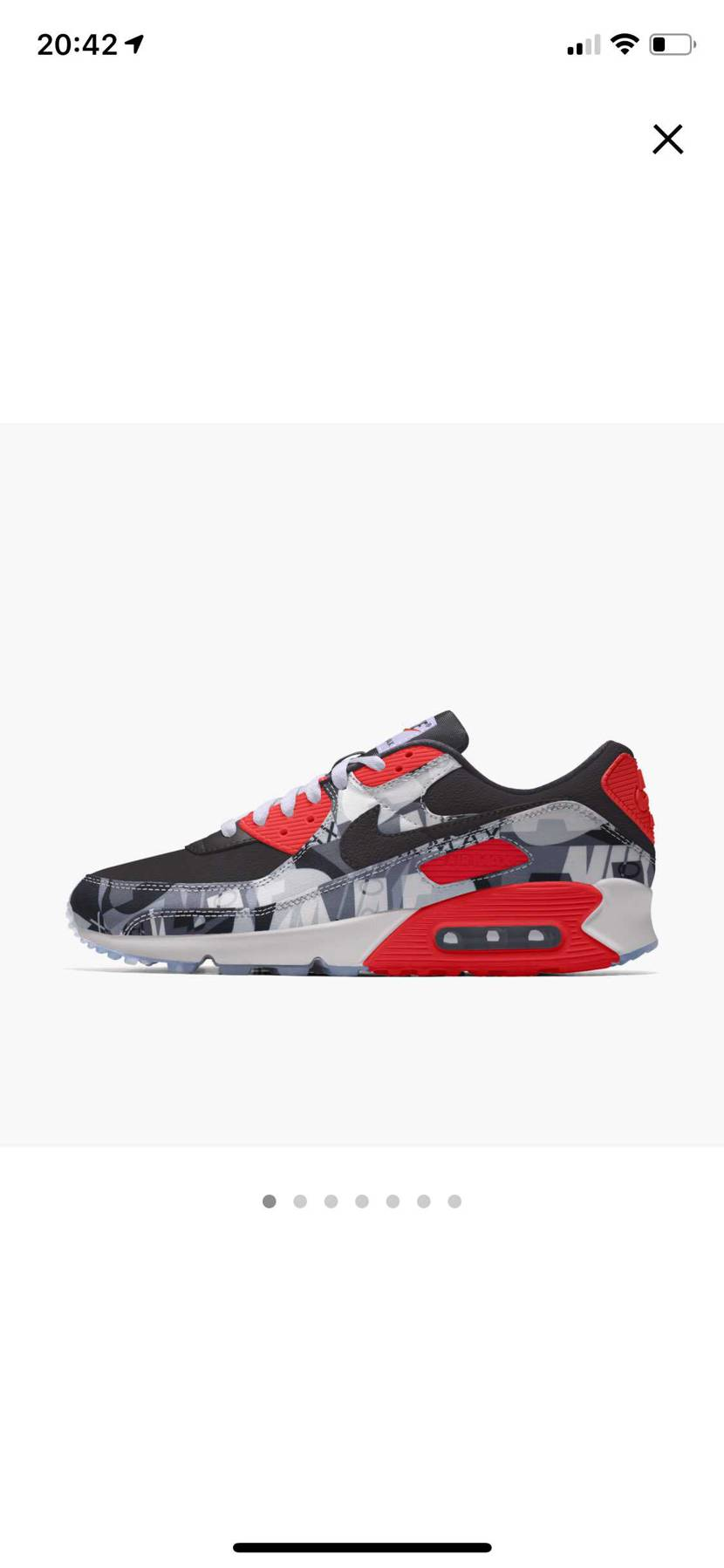 atmos90レッド we love NIKE風味w