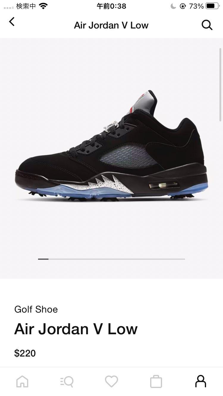 最近ゴルフ始めたので買ってみました。 好きな靴履いてゴルフしたいじゃん。