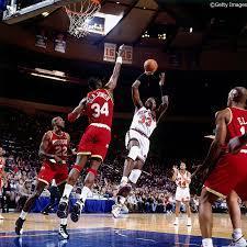 Knicks ダンクキター!!  AF1とダンクで2ショット😻   #