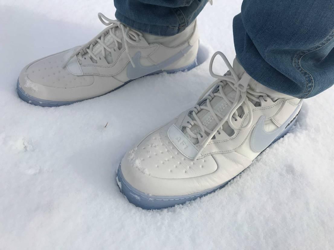 こんな日の為の一足 雪が似合う!